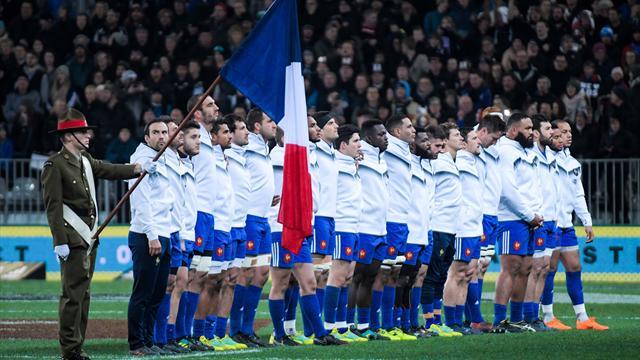 Três emocionantes embates da seleção de râguebi de França a não perder no Eurosport