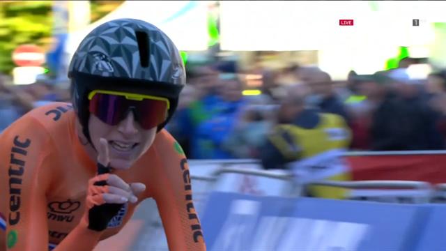 Mundiales 2018: Annemiek Van Vleuten vuelve a coronarse campeona del mundo contrarreloj