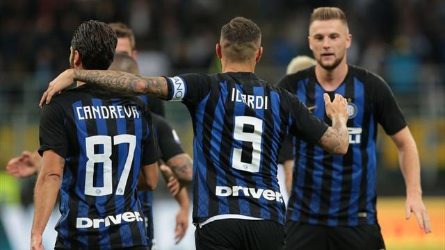 L'Inter décolle à la maison