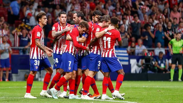 L'Atlético a bien préparé le derby