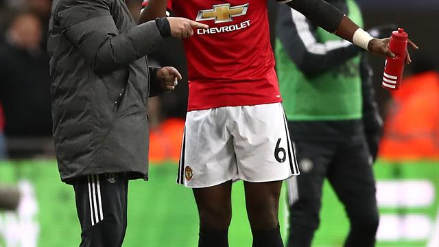Paul Pogba stripped of Manchester United vice-captaincy by Jose Mourinho