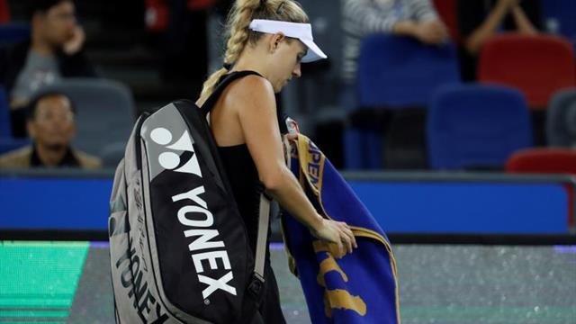 Kerber y Kvitova caen en octavos del Torneo de Wuhan