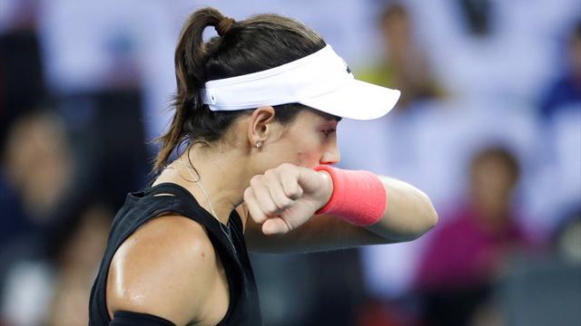🎾👎 Garbiñe Muguruza sufre otro revés en octavos de final del torneo de Wuhan