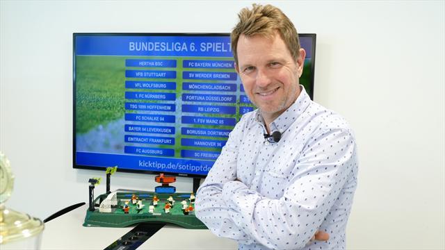 #SotipptderBoss: Bremen bleibt Bayern-Jäger, Leipzig ohne Sieg