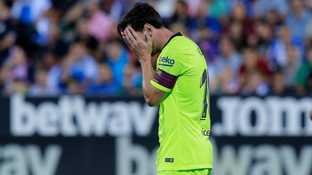 Barcelona coach Valverde defends benching Messi for Bilbao draw