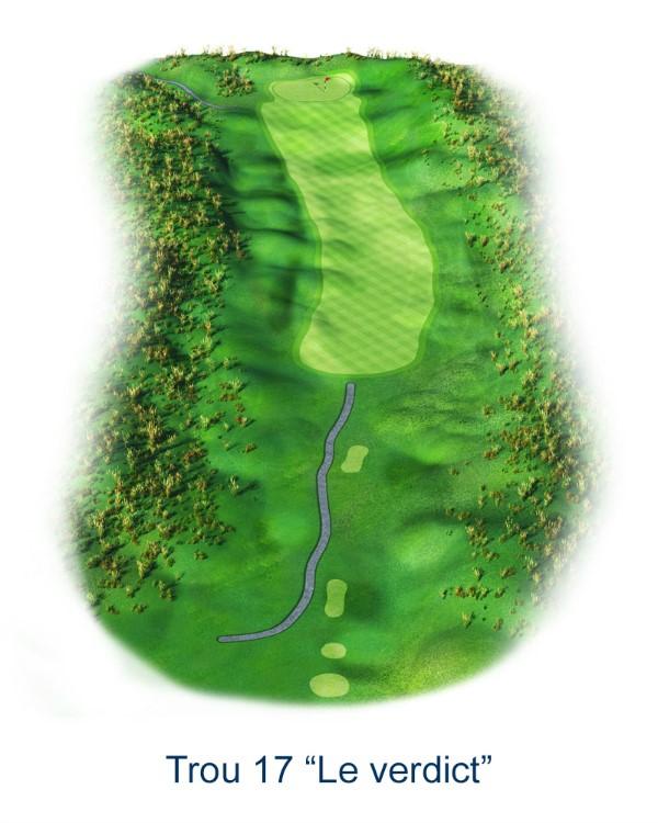 Le trou N°17 - Le Verdict (Crédit : Golf National)