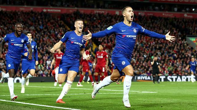 Chelsea renverse Liverpool et verra les 8es