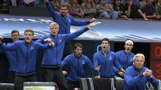 Zverev clinches Laver Cup 2018 victory for Team Europe