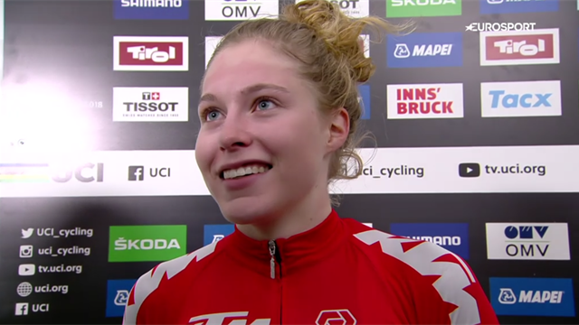 Road race champion Stigger: 'I'm from mountain biking, this is crazy'