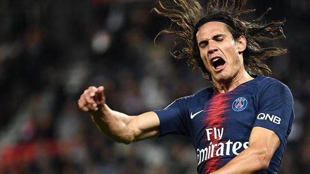 Cavani prêt à revenir contre Lille pour être «à 100% contre Naples»