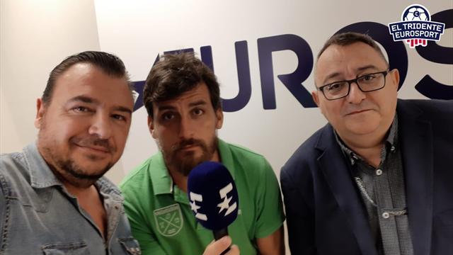 El Tridente Eurosport: Uría, De la Calle y Castelló celebran el VAR en Champions