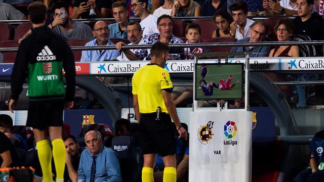 El VAR en LaLiga intervino más que en el Mundial y tuvo un 96% de acierto en penaltis