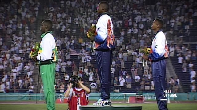 Hall of Fame Atlanta 96: El tercer oro consecutivo de Carl Lewis en el salto de longitud