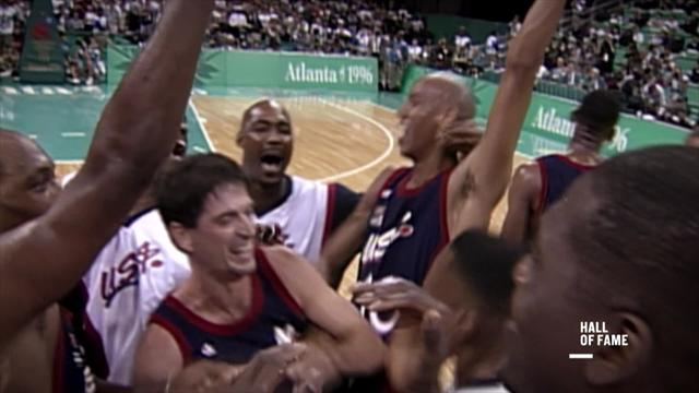 Hall of Fame : Atlanta - basketball men's final USA - Yougoslavia