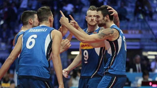 L'Italia si qualifica alle semifinali se...