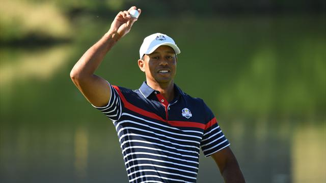 Woods paired with Reed in Ryder Cup fourballs
