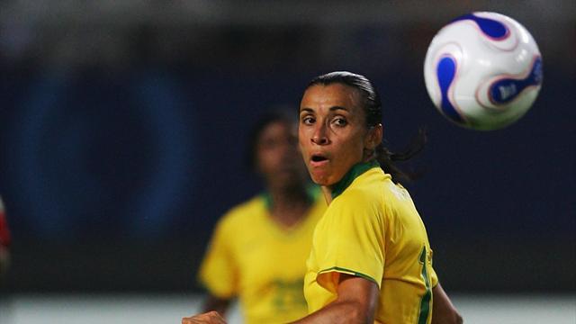 Le Brésil avec Marta et Formiga