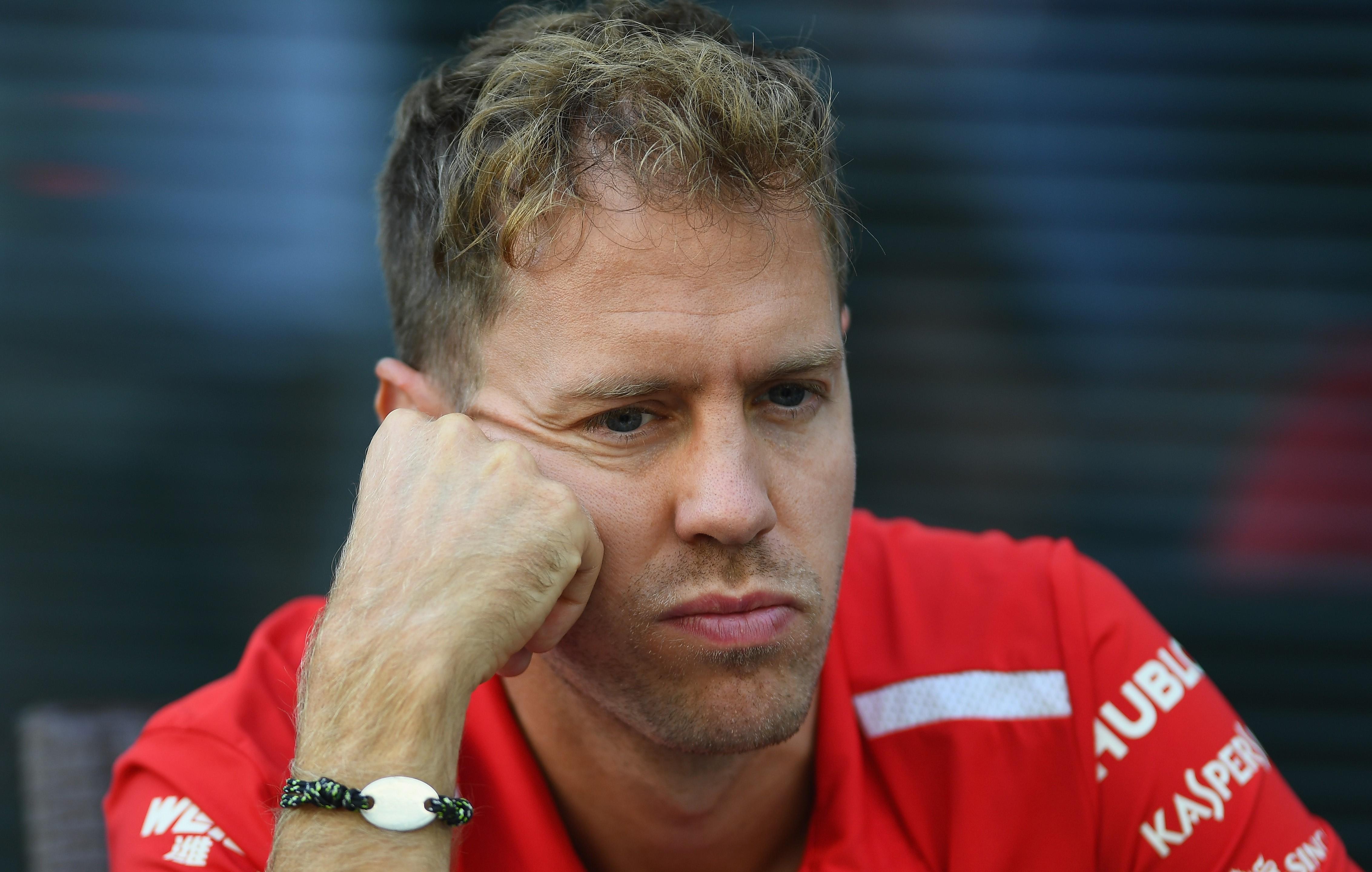 Sebastian Vettel (Ferrari) au Grand Prix de Russie 2018