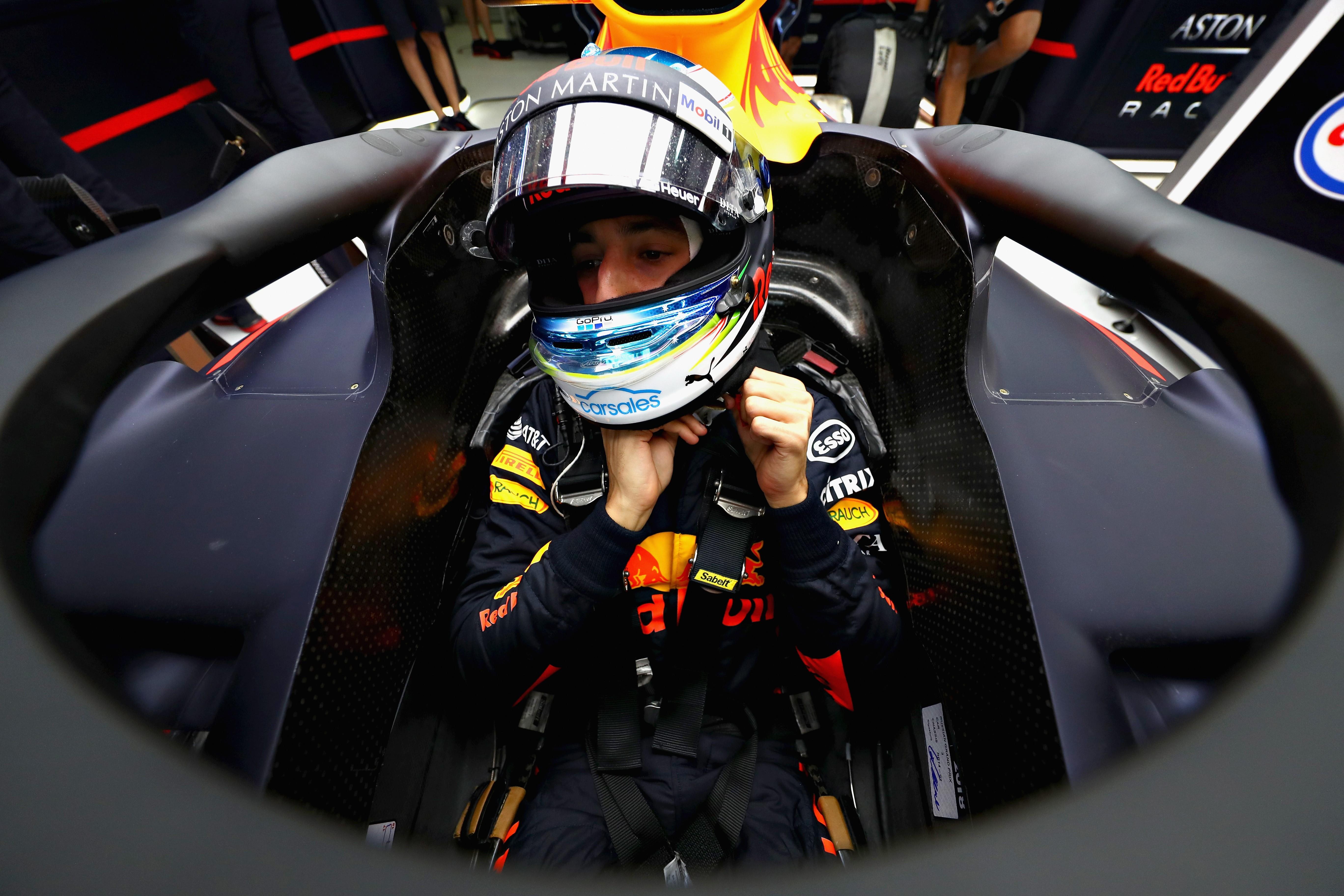 Daniel Ricciardo (Red Bull) au Grand Prix de Russie 2018