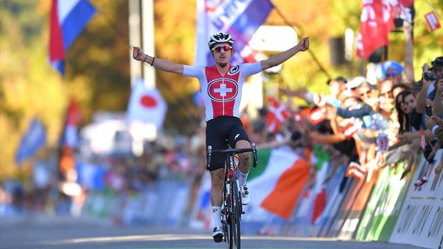 Hirschi masters descent to win U23 road race