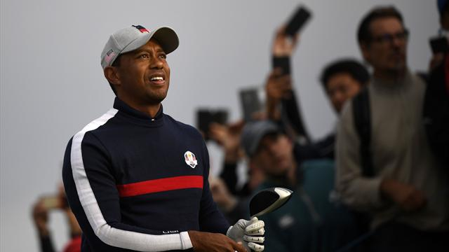 Woods slumps to defeat on Ryder Cup return