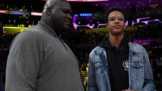 États-Unis: le fils de Shaquille O'Neal freiné par un problème cardiaque