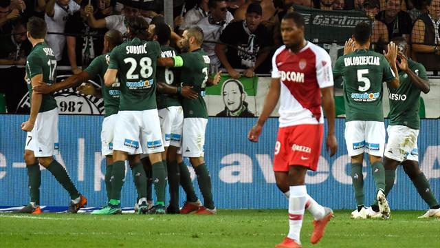 Saint-Etienne et Khazri coulent Monaco