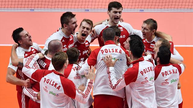 Brésil-Serbie et Pologne-USA en demi-finales