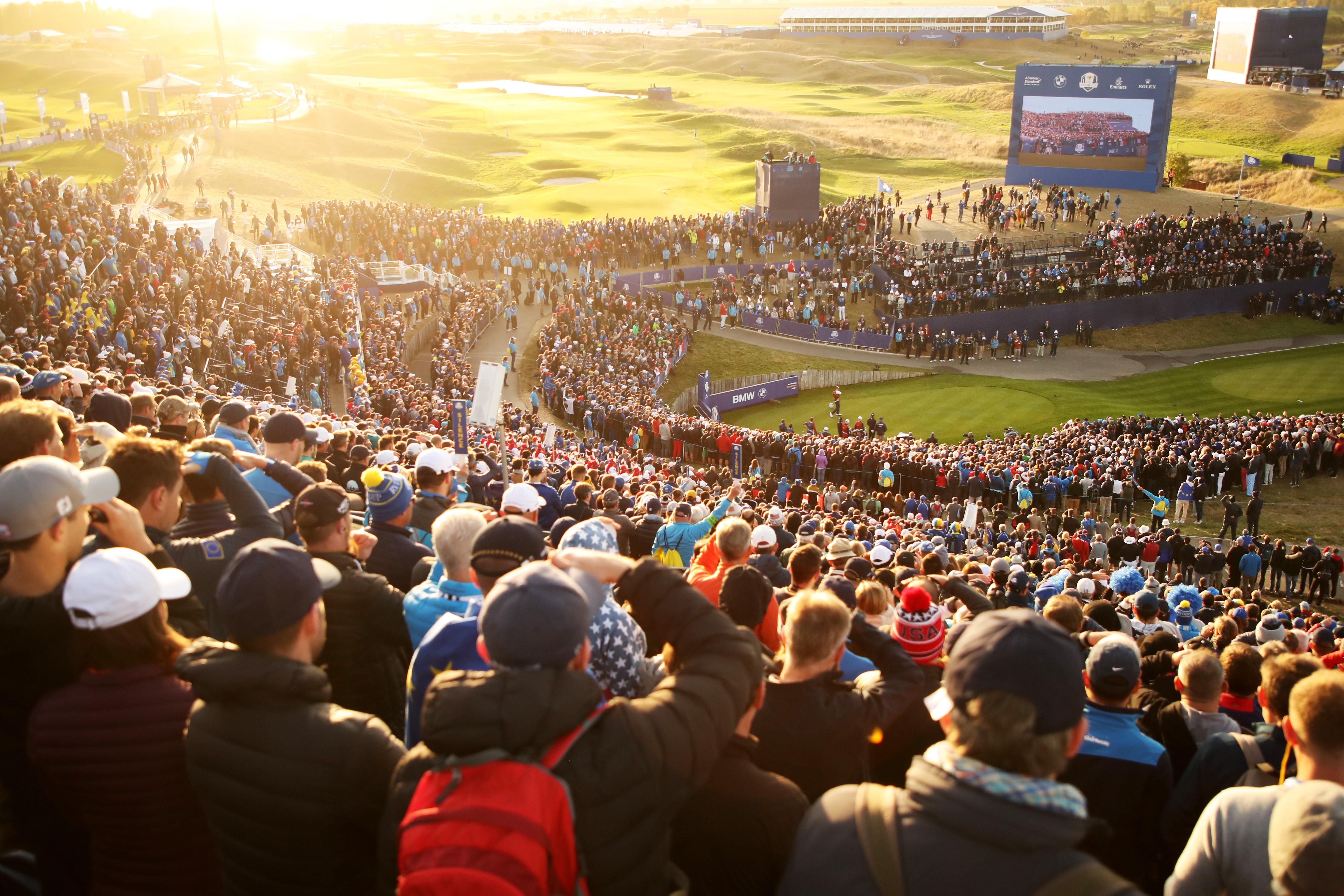 La Ryder Cup au Golf National.