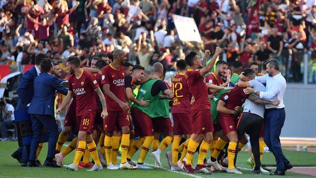 Derbinin kazananı Roma