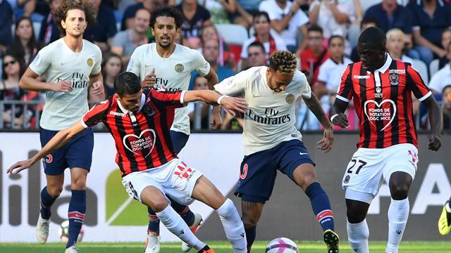 Ligue 1, Niza-PSG: Neymar lidera otro paseo (0-3)