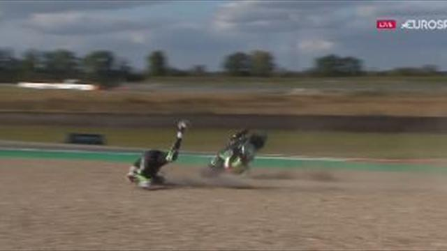 Buchan in nasty crash during Assen qualifying