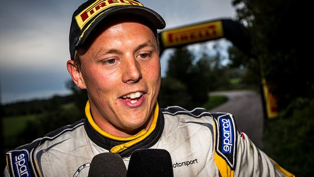 Error-free drive key to Kristensson's first ERC Junior win