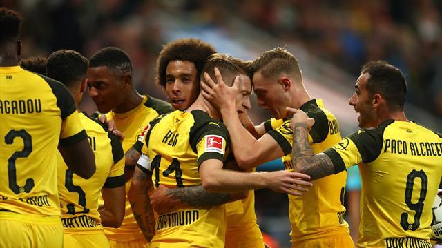 Dortmund renverse Leverkusen et passe leader