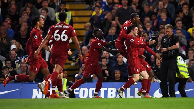 Liverpool frustre Chelsea
