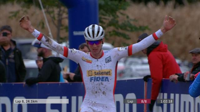 WATCH - Toon Aerts wins the UCI Cyclo-Cross World Cup