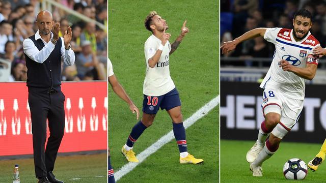 Baroud d'honneur, Neymar exemplaire, suffisance lyonnaise : les tops et les flops de samedi