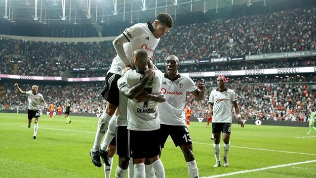 Beşiktaş, Vodafone Park'ta kaybetmedi