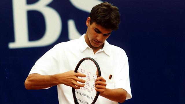 Il y a 20 ans, Federer remportait le 1er match de sa carrière