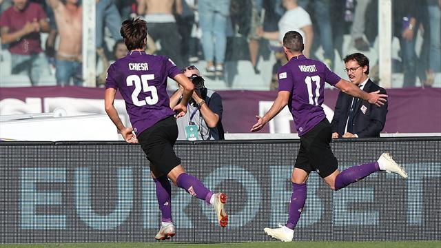 La Fiorentina batte l'Atalanta: scintille in campo tra Gasperini e Pioli