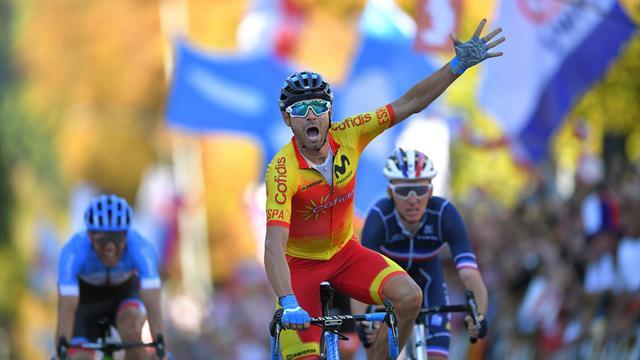 Tout en maîtrise, Valverde a frustré Bardet après un sprint royal