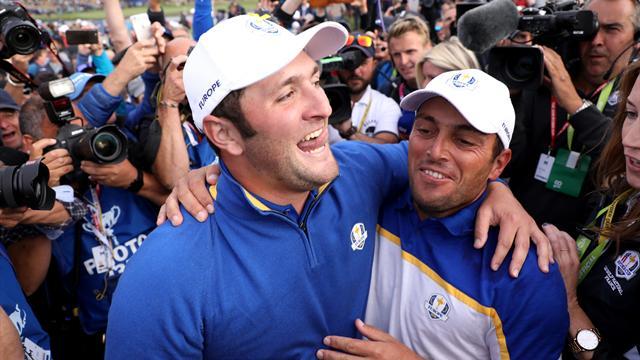 L'Europe a dominé jusqu'au bout : Revivez la dernière journée de la Ryder Cup