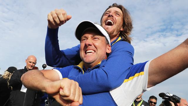 Europe overpower USA to reclaim Ryder Cup in style at Le Golf National
