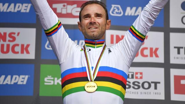 Mundiales 2018: La victoria más grande, Alejandro Valverde por fin tiene su arcoíris