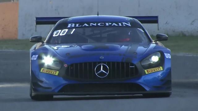 Last Lap of the Blancpain GT Series