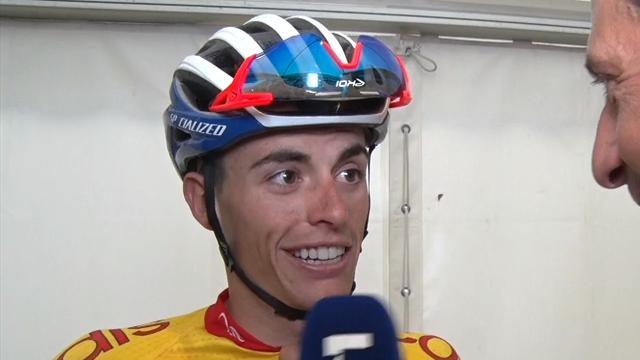 """Enric Mas, por la victoria de Valverde: """"Una vida luchando por esto, hemos llorado como magdalenas"""""""