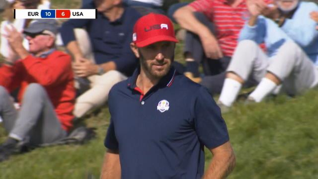 Le coup du jour : Le putt monstrueux de Dustin Johnson