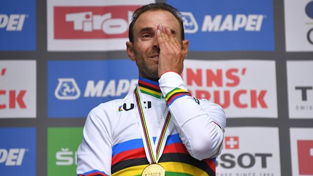 Tutto l'oro di Alejandro Valverde, campione di un mondo infinito