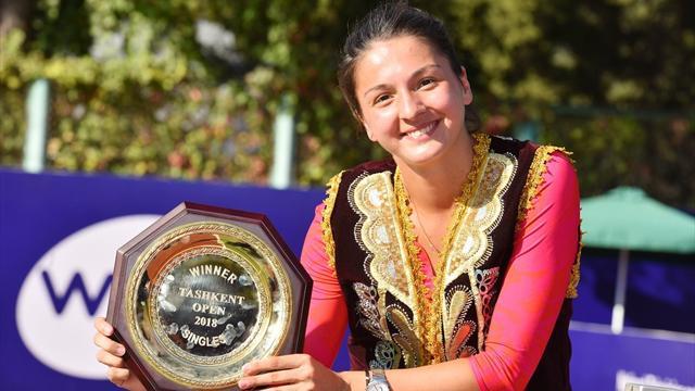 Гаспарян поднялась на 161 позицию после победы в Ташкенте