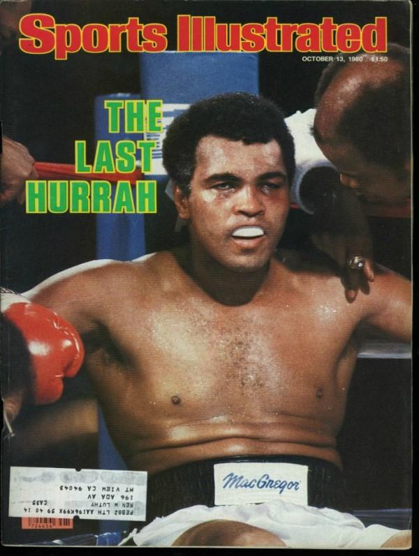 L'air hagard de Mohamed Ali : la cruelle couverture de Sports Illustrated.